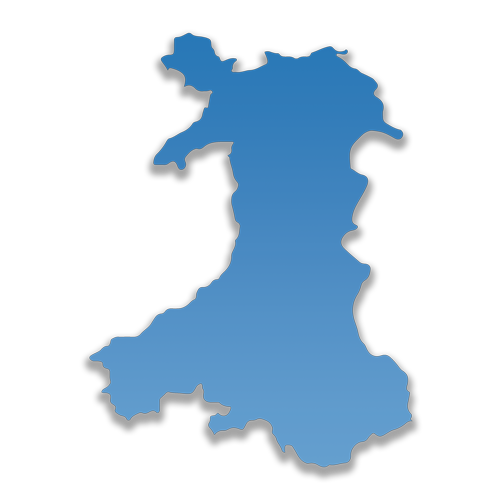 Wales Same Day Courier Elite Logistics Map
